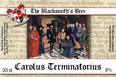 Label Carolus Terminatorius